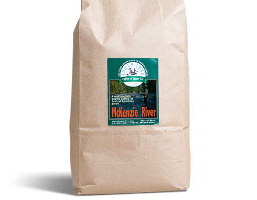 South Fork brand McKenzie River coffee bag