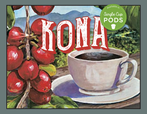 South Fork brand Kona coffee blend