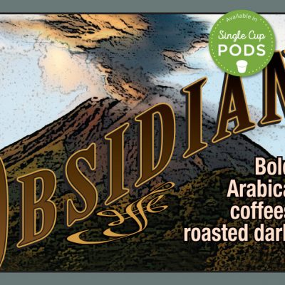 South Fork brand Obsidian coffee blend
